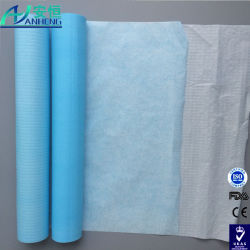 Disposable Protective Bed Sheet Paper+PE Film