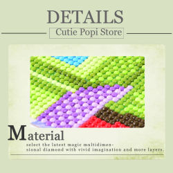 Factory Direct Wholesale New Children DIY Crystal Modern Flower Wall Art Canvas Home Decoration FT-012
