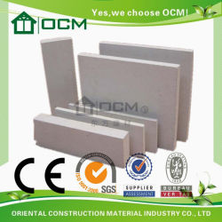 MGO Board/Magnesium Oxide Board/Fireproof Wall Panel (CE, ISO approved)