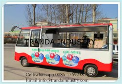 Eco-Friendly Electric Mobile Food Bus