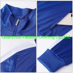 Wholesale Custom Tracksuits Polyester Jogging Clothing Clothes Wear Apparel Garment Sports Wear