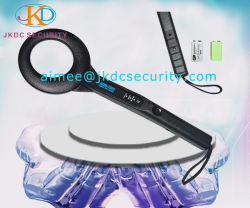 Security Inspection Non-Ferrous Hand-Held Metal Detector Body Scanner with LED Light Indicator