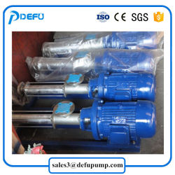 Slurry Oil Transfer Low Speed Mono Screw Pump with Gear Motor