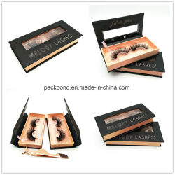 High Quality Paper Pull out Drawer Lash Box Packaging for 3D Mink Lashes