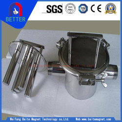 Ce Certification Stainless Steel Pipeline Magnetic Grate Magnet From China Manufacturer