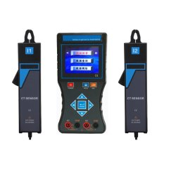 Electronic Test Voltage Current Double Clamp Phase Volt-Ampere Meter