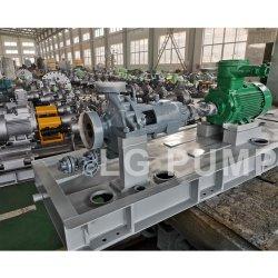API610 Standard Oh2 Horizontal Centrifugal Chemical Fuel Oil Pump