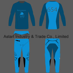 Customized Sublimated Fitness Motorcycle Racing Clothing