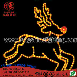 large led lighting outdoor christmas reindeer light holiday decoration lights