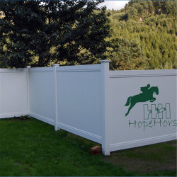 North American Style Fence, Privacy Fence, Fence Panel, PVC Fence