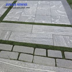 Quarry And Factory Owner Paver Kerbstone Countertop Palliside Grey Granite Tile