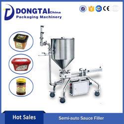 High Quality Single Head Piston Granule Sauce Filling Machine