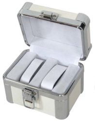 Aluminium Box/ Luxury Leather Watch Packing Display Box for Watch Tools Cash Jewelry Gem Gifts Collecton (A13)