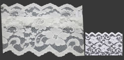 2014 Spring White Lace Ribbon with Scallopd (Lca43231)