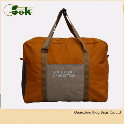 Fashion Cute Lightweight Sports Rolling Duffle Weekend Travel Tote Luggage Bag for Travelling