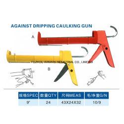 9inch Against Dripping Caulking Gun with Iron Sheet (WW-SC028)
