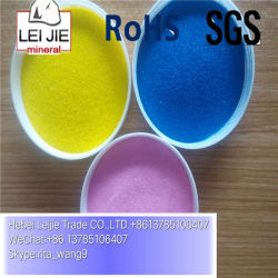 Cheap Black Yellow Pink Blue Green Dyed Color Sand