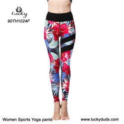 Women Sport Compression Pants High Waisted Custom Yoga Pants