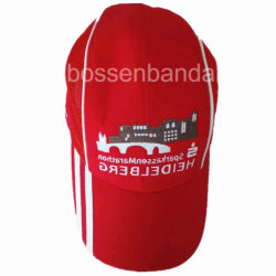 a9b7dec29078a Factory OEM Customized Logo Embroidered Printed Red Mesh Baseball Cap Hat