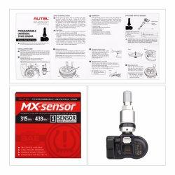 Autel TPMS Mx-Sensor 433/315MHz Best Quality Autel Mx-Sensor Programmable Universal TPMS Sensor with Free Shipping