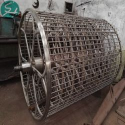 Stainless Steel Cylinder Mould for Paper Pulp Industry