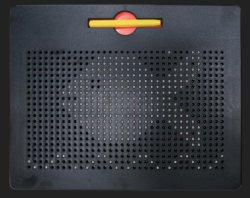 Magplayer Magpad 714 PCS Magnetic Beads Writing Board for Kids Education
