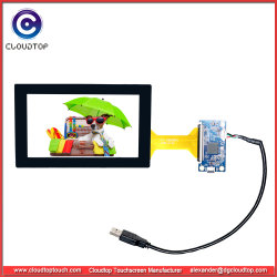 """5.5"""" Touchscreen Custom for Handheld Device with Projected Capacitive Touch Technology"""