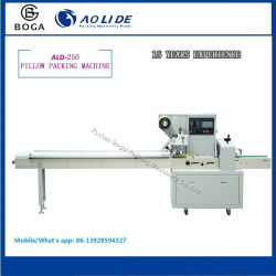 Factory Automatic Pillow Flow High Speed Hamburgers Packaging Machine Price