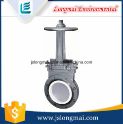 Three-Piece Type Slurry Valve (flat gate valve)