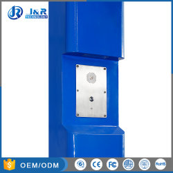 J&R Solar Powered Emergency Telephone Blue Light Call Box, Campus Emergency Telephone