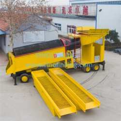 Placer Gold Extraction Machine for Mining Project Sand Gold Screening and Separation Equipment