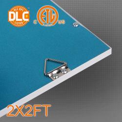 25/32/36/40/50/70W 2X2/1X3/2X4 Feet ETL/Dlc Approved 130lm/W Square Slim LED Panel Light