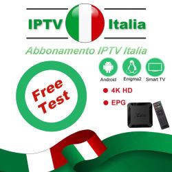 IPTV Italy Subscription M3u Italia Poland Germany Support TV Box Smart TV Enigma2 Premium Mediaset IPTV Box Android Adult Sport 7000+Live for Reseller Service