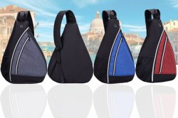 Promotion High Quality Sling Shoulder Sports Teenagers Triangle Backpack