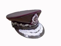 Military Peak Officer Hat Design Navy Officer Peaked Police Cap (CB30131)