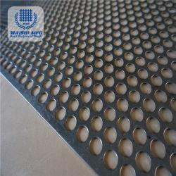 Galvanized Perforated Metal Mesh Panel / Sheet