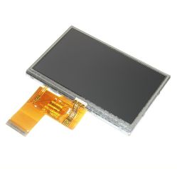 "4.3"" TFT LCD with Capacitive Touchscreen, high Brightness"