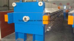Hydraulic Automatic Membrane Filter Press for Slurry/Mud/Sludge