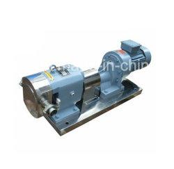 Stainless Steel Horizontal Chocolate Rotary Lobe Gear Pump