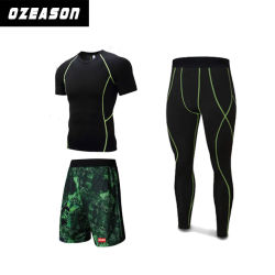 OEM Service Wholesale Custom Compression Tights Sports Fitness Wear Clothes