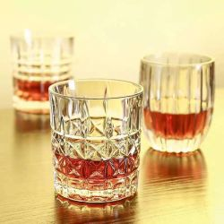 Classic Crystal Whisky Glass Cup of Glassware for Home/Hotel/Bar