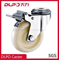 Dlpo Plate Stainless Steel Wheel Barrow Castor Wheel for Trolley Cart