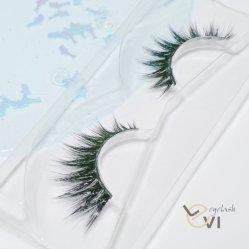 Natural Layered Dense Cotton Band Artificial Mink Fur Strip Eyelash Silk Eyelash