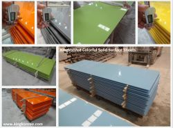 Various Color Modified Acrylic Solid Surface for Wall Panel