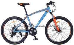 Mt26hb618 26inch Steel Frame Mountain Bicycle with 21 Speed