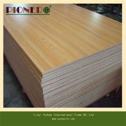 China Supplier E1 Grade Melamine Board for Sale with MDF/ Particle Board/ Plywood Base Board