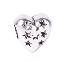 Delicate Angel Wings Heart Charm jewelry Accessories for DIY Making
