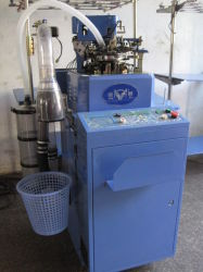 3.75'' Jr-6f Automatical Terry and Plain Dual-Use Sock Knitting Machine