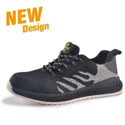 Casual Hiking Sneaker Fashion Men Leather Work Sports Safety Shoes