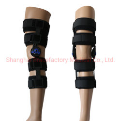2dcdf21320 Motion Control Hinged ROM Knee Splint Brace for Post-Op Recovery and  Rehabilitation